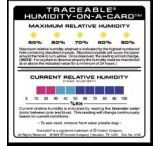 VWR Traceable Humidity-On-A-Card Card 4192
