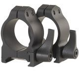 Warne Medium Quick Detach Rings w/Matte Finish 201LM