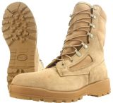 Wellco T115 Temperate Weather Tan Boots w/ Steel Toe