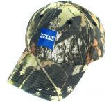 Zeiss Gear Camo Hat with Blue Zeiss Logo