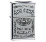 Zippo Jack Daniels Classic Style Emblem Lighter