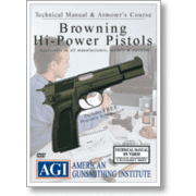 Gun Video DVD - AGI: Browning Hi-Power X0065D FREE S&H X0065D. Gun ...