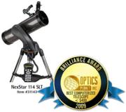 Celestron NexStar 114 SLT 114mm go-to altazimuth reflector 31143
