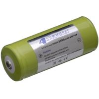 FOURSEVENS Rechargeable Lithium Ion Battery FS-26650