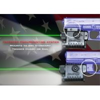 Aimshot Pistol LS8268 Green Laser Flashlight Combo with Rail Mount and Trigger Mount