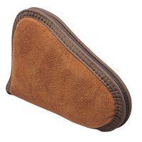 Allen Suede Leather Pistol Case 8 Inch Rust 75-8