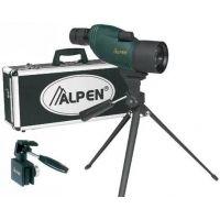 Alpen 12-36x50 Spotting Scope Kit w/ Car Window Mount, Aluminum Travel Case, Tripod 722KIT