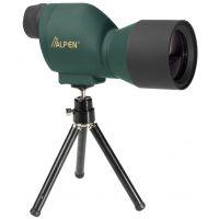 Alpen 20x50 Waterproof Mini Spotting Scope w/ Sunshade, Tripod, Carrying Case