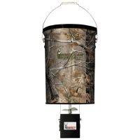 American Hunter 50lb Hanging Feeder Realtree AP Camo w/ Economy Feeder Kit