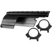 B-Square Shotgun Saddle Mounts (includes 1 inch rings) - Mossberg 535/835 12 ga, Maverick 91 12 ga, Blue 16585