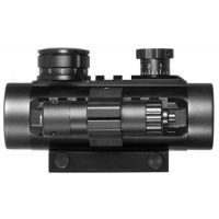 Barska 1x30 Electro Sight Riflescope w/ Flashlight, Red Laser Sight