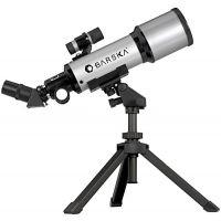 Barska 40070, 88x Compact Refractor Telescope, 400mm x 70mm Telescope w/ Table Top Tripod & Carrying Case - AE10100