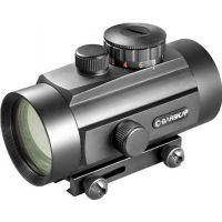 Barska 40mm Red Dot Scope w/ Dual Color Reticle & Dual Size Mounts - AC10650