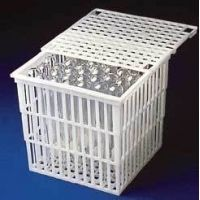 Bel-Art Baskets with Lid, Polypropylene, SCIENCEWARE 187380010