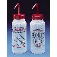 Bel-Art Safety-Vented Labeled Wash Bottles, Low-Density Polyethylene, Wide Mouth 116422638 500 Ml (16 oz.) Capacity