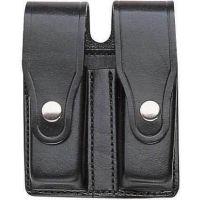 Bianchi 20W Tactical Magazine Pouch - Plain Black, Chrome 17130