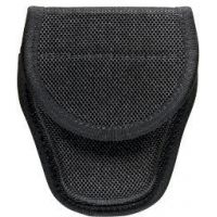 Bianchi 7300 AccuMold Covered Cuff Case - Black, Hidden 23013