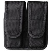Bianchi 7302 AccuMold Double Magazine Pouch - Black, 18442