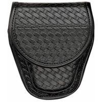 Bianchi 7900 Covered Cuff Case - Plain Black, Chrome 22064