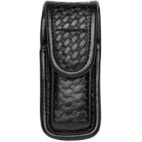 Bianchi 7903 Single Mag/Knife Pouch - Basket Black, Hidden 22937