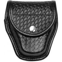 Bianchi 7917 Double Cuff Case - Basket Black, Brass 22199