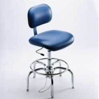 Bio Fit Cleanroom/ESD Chairs, 4P Series, BioFit 4P57CRCVUV Class 100 Cleanroom Chairs (Ship Now! Models)