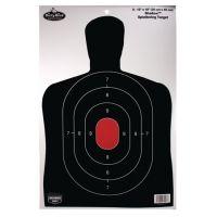 Birchwood Casey Dirty Bird Shadow Targets BC27 12x18 Inch 100 Per Package 35702