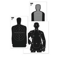 Birchwood Casey B-21 Eze-Scorer Silhouette Paper Target 35x45 Inch 100 Per Case 37003