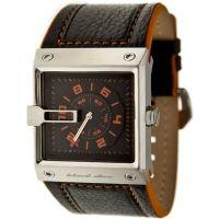 Black Dice Grind 047 Mens Quartz Watch - Water Resistant, Genuine Leather Strap