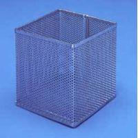 Black Machine Baskets, Perforated Aluminum PERF300/C Round