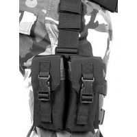 BlackHawk Omega M16 Mag Pouch (holds 2) Black 561601BK