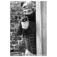 Blackheart Ultimate Assailant Targets Alley Hold-Up Measures 23x35 Inches 25 Per Pack BH-013-002-25