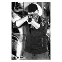 Blackheart Ultimate Assailant Targets Shotgun Punk 1 Measures 23x35 Inches 25 Per Pack BH-013-003-25