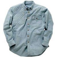 Bob Allen BA770 Long Sleeve Denim Shirt