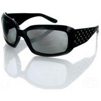 Bobster Highway Honey Sunglasses, Black w/ Smoke Grey Lenses
