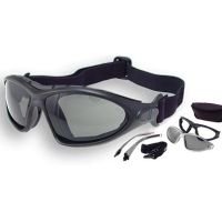Bobster Road Master Photochromic Goggles - Sunglasses with Black Frame BDG001