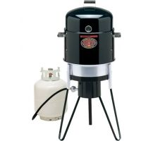 Brinkmann Outdoors All In One Gas & Charcoal Single Burner