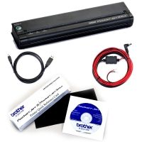 Brother Mobile Solutions PocketJet 3 Plus In-Vehicle Kit 300-DPI Integrated USB/IrDA and BlueTooth
