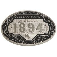 Brunton Oval All Around 1894 Belt Buckle