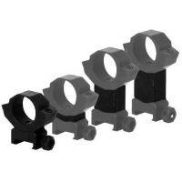 BSA Optics Adjustable Aluminum Scope Ring Mounting System