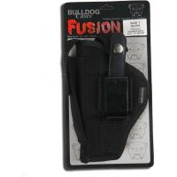 "Bulldog Cases Belt And Clip Ambi Holster - Small Frame Revolvers w/ 5 - 6 1/2"" Barrels (Colt Python) FSN-6"