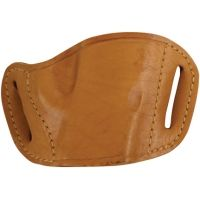 Bulldog Cases Molded Leather Belt Slide Holster - Small and Mini Autos