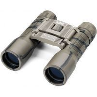 Bushnell Powerview 16x32 Folding Camo Binoculars 131633c, Clam pack