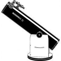 Bushnell Voyager 8 Inch Dobsonian Telescope w/ Wide-Field 6x30 Finderscope 788000