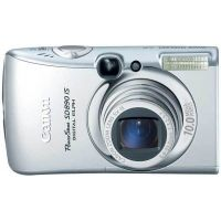 """Canon PowerShot SD890IS Digital ELPH Camera - 10MP, 5x Optical Zoom, Optical Image Stabilizer, 2.5"""" LCD, Motion Detection 2566B001"""