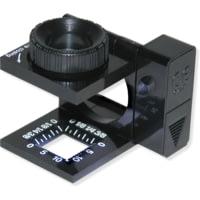 Carson 10x Lighted Linen Test Compact Magnifier LT-10