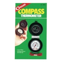 Coghlans Compass and Thermometer Combo With Belt Clip and Lanyard 9740