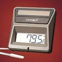 Control Company Solar-Powered Thermometers 4123 With External Sensor And Cable