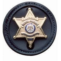 DeSantis Black - Plain - L.A.P.D. Badge Holder U22BZG5Z0