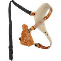 DeSantis Right Hand Tan C E O  Shoulder Holster 11ZTAC7Z0